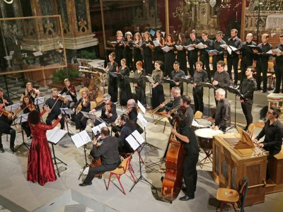 Allabastrina Choir & Consort, Leitung: Elena Sartori / G. B. Pergolesi: Laudate Dominum, Jean-Baptiste Lully: Grand Te Deum / 21.08.2019 Dom Brixen