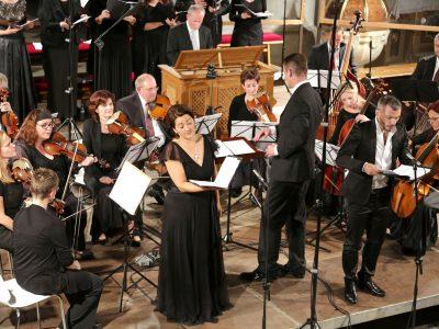"Ensemble Inegal, Prague Baroque Soloists, Leitung: Adam Viktora / ""Magnificat"", Werke von Zelenka, Händel, Vivaldi / 22.08.2017 Pfarrkirche Maria im Moos Sterzing"