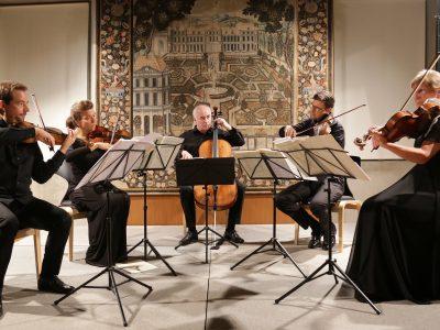 Bartholdy Streichquintett / Mozart in Brixen: Streichquintette von W. A. Mozart und J. L. Eybler / 07.09.2019 Kaisersaal der Brixner Hofburg