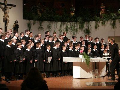 Windsbacher Knabenchor, Leitung: Martin Lehmann / Advent-Weihnachtskonzert / 07.12.2019 Freinademetzkirche Milland