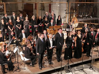 "Ensemble Inégal & Prague Baroque Soloists, Leitung: Adam Viktora / ""Magnificat"": Zelenka, Händel, Vivaldi / 22.08.2017 Pfarrkirche Maria im Moos Sterzing"