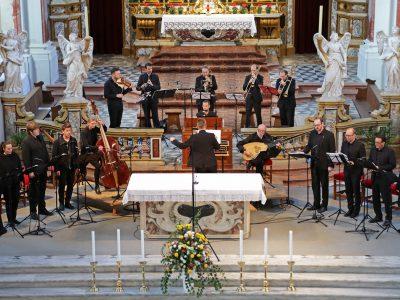 Cappella Claudiana & Marini Consort, Leitung: Marian Polin / Venezianische Klangpracht in Tirol / Werke von Giovanni Legrenzi aus dem Stift Marienberg,  / 07.10.2017 Stiftskirche Kloster Neustift