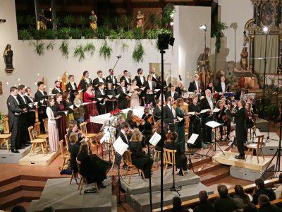 Vocalensemble Rastatt, Les Favorites Barockorchester, Leitung: Holger Speck / J. S. Bach, Weihnachtsoratorium BWV 248 / 16.12.2018 Freinademetzkirche Milland