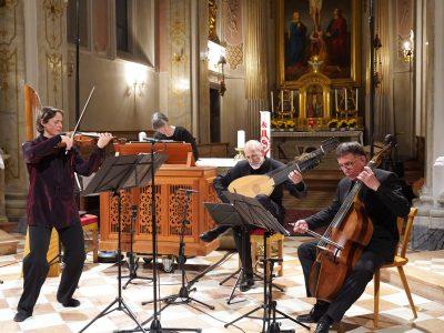 Annegret Siedel (Barockviolinen), Bell'Arte Salzburg / Heinrich Ignaz Franz Biber: Rosenkranzsonaten / 18.05.2019 Kirche des Priesterseminars Brixen