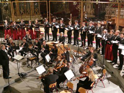 Kammerchor Stuttgart, Streicherakademie Bozen, Leitung: Frieder Bernius / 500 Jahre Reformation: Werke von J. S. Bach / 26.05.2017 Dom Brixen