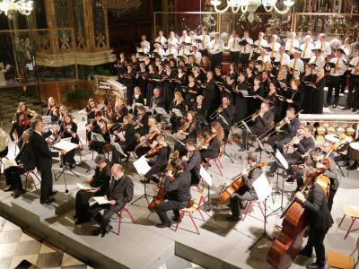 Domchor und Domorchester Brixen, Leitung: Heinrich Walder / Klangdom (Mozart: Requiem) / 14.08.2017 Dom Brixen