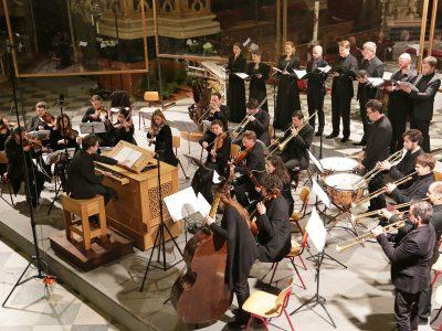Concerto Stella Matutina, Leitung: Johannes Hämmerle / Werke von Carl Heinrich und H.I.F. Biber / 06.05.2017 Dom Brixen