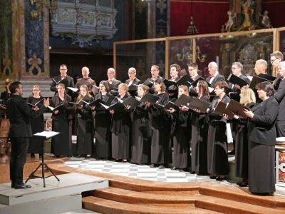 "Kammerchor Leonhard Lechner, Dominik Bernhard (Orgel), Leitung: Tobias Chizzali / ""Magnificat"" / 31.05.2019 Dom Brixen"